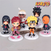 Wholesale hot toys a set of 6 Naruto 19 Generation japanese naruto action figures