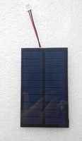 Custom made 100*60mm 5V 0.7W PET laminated solar panel