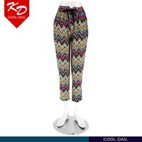 OEM Custom striped print Indian harem pants for wholesale Guangzhou Supplier