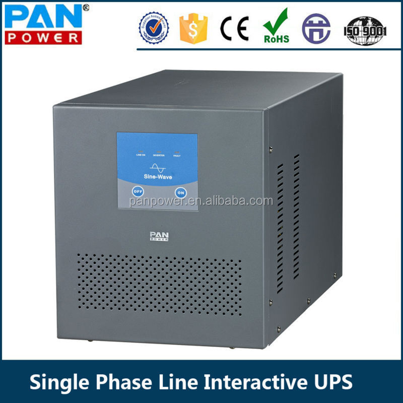 Single Phase Line : Avr single phase line interactive ups v va w