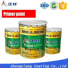 ZXPAINT water-based alkaline resistance paint sealer for exterior and interior masonry surfaces.