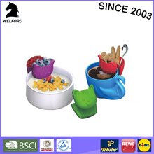 hot selling cup shape Rating of temperature: -40 to +210 silicone pensile food bag