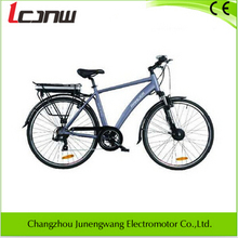 new light weight whole sell lady electric bicycle Aluminum 700C 36V 250W brushless hub Lithium-ion Samsung battery 10Ah 7 speed