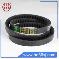 Excellent heat -resistance raw edge belt with best price
