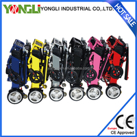 Four wheel motorcycle electric wheelchair powered tricycle for handicapped