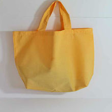 Shopping Bag 100% Cotton Yellow