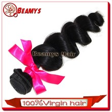 No shed no tangle hair weave, most popular brazilian micro loop hair extension