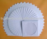 CD/DVD 100g/120g White Paper Sleeve