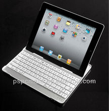 Aluminium Mini bluetooth wireless keyboard case for iPad 2,3,4