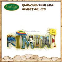 OEM/ODM wholesale Rimini souvenir resin fridge magnet characters