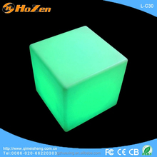Supply all kinds of led tv cube,plastic light cube,led cube rgb 50x50x50
