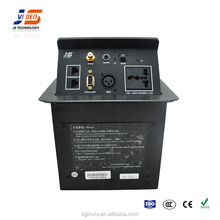 JS-551+ Hot Selling Black /Silver Aluminum Pop Up Connection Box