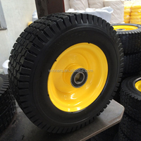 13 Inchs /pu foamed wheel lawn mower,wheelbarrows wheel,SGS