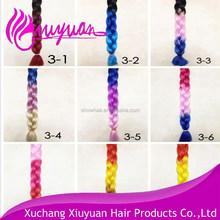 hair braid made of synthetic fiber braid hair extensions yaki hair braid styles
