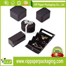 China Mobile Flashing Box Black Jewelry Box