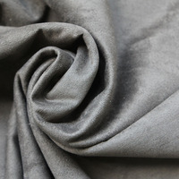 Microfiber brushed polyester fabric,quilted synthetic leather warp knitted suede fabric,microfiber faux leather fabric wholesale