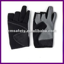 Waterproof neoprene fishing gloves for handling ZMR 141