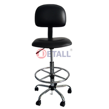 swivel lab Chair with bactrest and footrest