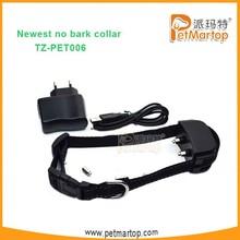 2015 Unique Water Resistant Electric Shock Bark Shock Collar TZ-PET006