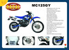 MC125GY The best racing motorcycle,eec dirt bike for adult,dirt bike for sale cheap 125cc
