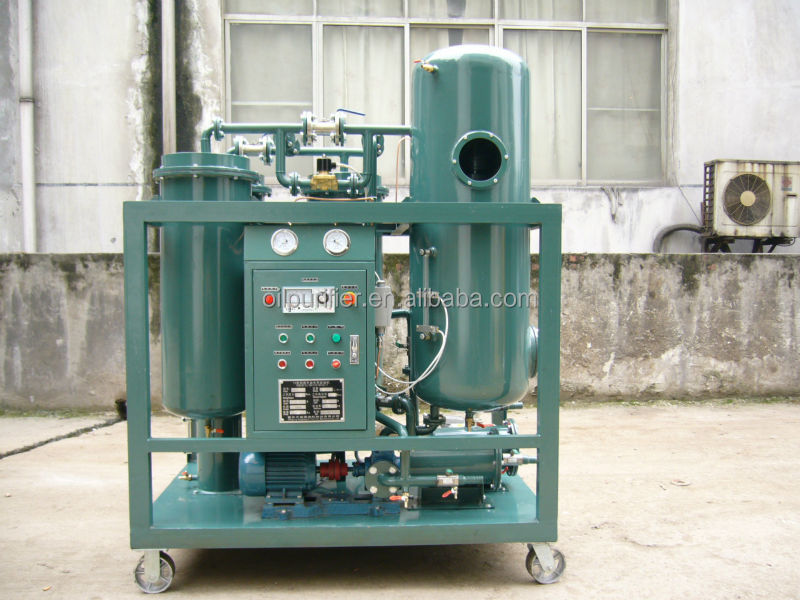 Waste Motor Engine Oil Recycling Equipment Through Vacuum