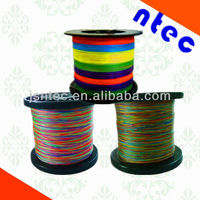 Top quality PE fishing line any colors available