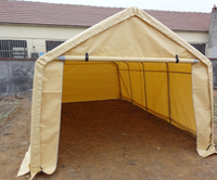 SS1020 single pipe car parking shelters