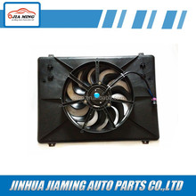 Auto air conditioning fan car radiator,condenser cooling fan for ISUZU NKR66 600P