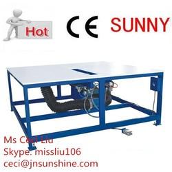 double glazing glass machine/double glazing glass making machine/double glazing glass rubber application table (JZT1600)