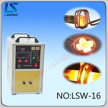 Newest automatic high-frequency small induction gold melting crucible furnace machine