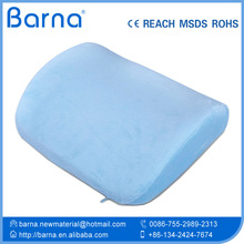 Therapy Lumbar Cushion Support Pillow with Velour Cover memory foam back cushion
