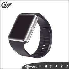 metal + silica gel bluetooth gt08 smart watch made in china