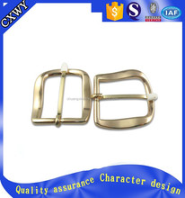 2015 custom made fashion gorgeous metal square single pin belt buckles