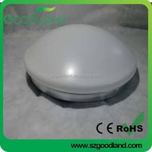 18w 220mm led bulkhead light PC cover