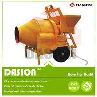 New ISO JZC250 channel steel self loading portable beton mixer with good price from large