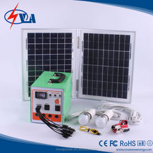20W Panel power USB port 5V 500mA portable solar charger systems with inverter 150W