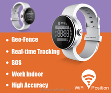 2015 New Design WIFI+GPS+GSM Tracking Personal GPS Adult Watch Tracker GPS Watch