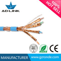 High quality and fast speed 305m bare copper cat7a cable