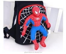 Super Cool Kids/Kindergarden Backpack School Bag With 3D Spiderman