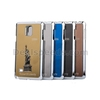 Blue for Samsung Galaxy Note 4 N910 3D Statue of Liberty Metal Skin Plating Hard PC Cover