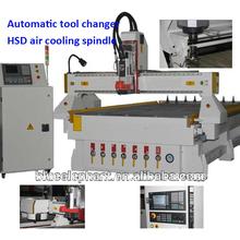 las ventas caliente atc del cnc para trabajar la madera router de la máquina con el huso hsd