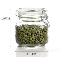 800ml swing top glass storage jar, kitchen storage jar