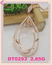 925 sterling silver journey pendant settings blank pendant settings