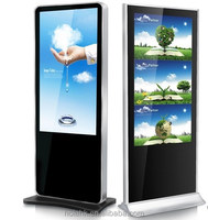 indoor application floor stand shopping mall advertising touch screen kiosk