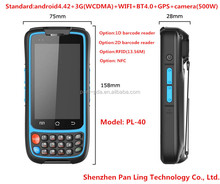 PL40 AI007 waterproof shockproof custom Android 4.4.2 HD Outdoor Dual core cell phone