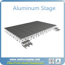 Aluminium frame wooden platform outdoor stage mobile stage for sale outdoor concert stage sale