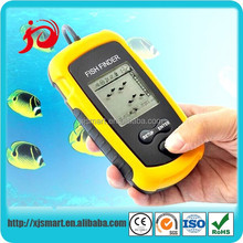 new portable gps fish finder with color LCD display screen