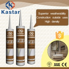 Trade Assurance Ozone & UV resistant silicone sealant for construction outside uses