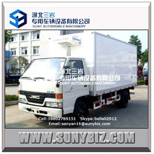 4X2 JMC vegetable refrigerator transport truck