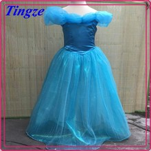 2015 girl's summer cinderella dress cosplay costume provided by china supplier HZC20